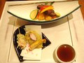 和桜ランチメイン料理