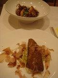 ディナー魚料理