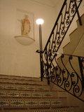 ホテル内階段