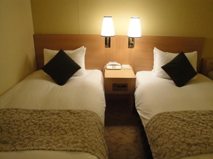 ツインルームベッド