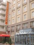 ヨーロッパのホテルのような外観。