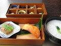 花山椒で朝食