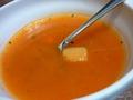 クリスマススイーツブッフェのスープ