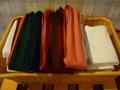 お部屋の帯とタオル