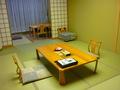 お部屋は和室です。