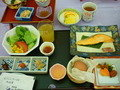 朝ご飯はとてもおいしいです。