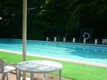 夏期のみ営業の屋外プール