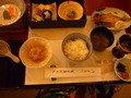 菊華荘の和食の朝食