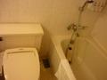 ユニットバスタイプのお風呂と洗浄付きトイレ