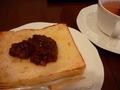 コーヒーショップ パーゴラの朝食ビュッフェに小倉トースト