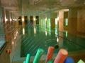 温水プールがあります。