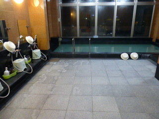大浴場は展望風呂