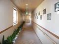 お風呂までの長い廊下