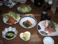 あさか荘の夕食