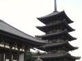 五重塔まで歩けました