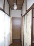 部屋の前の廊下