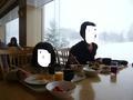 朝食バイキングレストランの窓が大きくて眺めがいいです