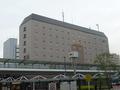 川崎駅西口バスターミナルから見た遠景(外観)。部屋からの景色は良いです。