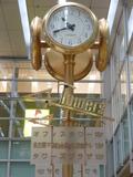 JR名古屋駅 中央コンコース 高島屋前のマリオット看板