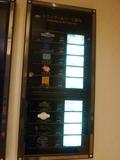 2階ホテルロビー レストラン案内板