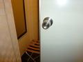 バスルームのドアと鍵