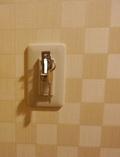 部屋のキーの差込口(スイッチ)