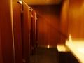 フロント階の女子トイレ