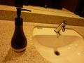 フロント階のトイレの洗面台