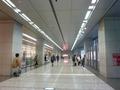 2階 スカイシャトル側出入り口を出た所の風景