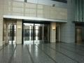 15階スカイウォーク側のホテル入口自動ドアー
