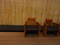 1階ロビー(宴会場)の待合イス