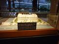 帝国ホテル初代本館のミニチュア (本館1階ロビーに展示)
