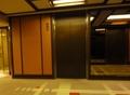 本館宿泊階のエレベーター