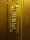 本館エレベーター内のボタン
