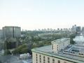 17階からの眺望(日比谷公園の噴水・霞が関・大手町)
