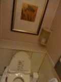 トイレの個室にまで絵画があります(本館17階)