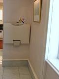 赤ちゃんのおむつ交換台(本館17階レストラン階トイレ)