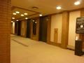 宴会場のエレベーターホール