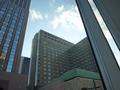 帝国ホテルが見える眺望