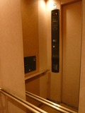 フロント直通エレベーター内(バリアフリー)