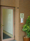 ホテル入口(駐車場横)