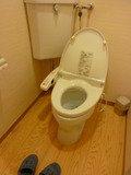 大浴場内のトイレ