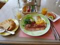 朝食(洋定食)のセットメニュー