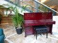 ロビーには、ピアノがある!