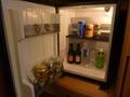 冷蔵庫の中の有料の飲料