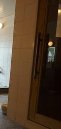 大浴場内のサウナルーム