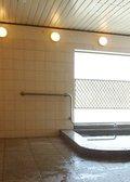 バリアフリーな大浴場です