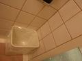 バスルームにもゴミ箱があって便利