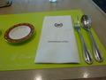 1階カジュアルレストラン「シャンゼリゼ」で