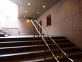 帝国ホテルタワーの入口外階段
